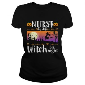 Nice Nurse By Day Witch By Night Halloween Costume  Classic Ladies