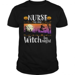 Nice Nurse By Day Witch By Night Halloween Costume  Unisex