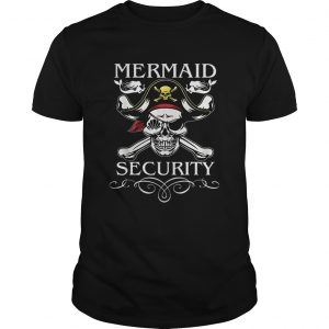 Nice Pirate Mermaid Security Funny Pirate day Costume  Unisex