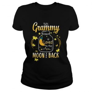 This Grammy Is Loved To The Moon And Back TShirt Classic Ladies