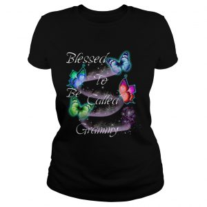 Women Mom Blessed To Be Called Grammy TShirt Classic Ladies