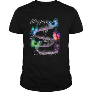 Women Mom Blessed To Be Called Grammy TShirt Unisex
