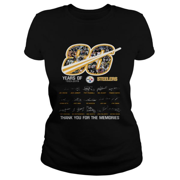 86 years of 19332019 Steelers thank you for the memories  Classic Ladies
