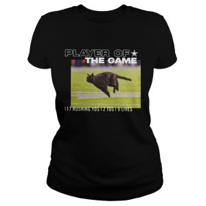 Dallas Cowboys Black Cat Player Of The Game 117 Rushing YSD 2 TDS 9 Lives  Classic Ladies