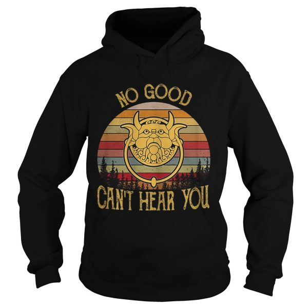 Labyrinth Door Knockers no good cant hear you vintage  Hoodie