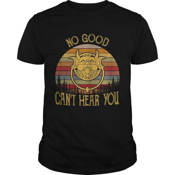 Labyrinth Door Knockers no good cant hear you vintage  Unisex
