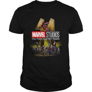 Marvel Studio The First Eleven Years  Unisex