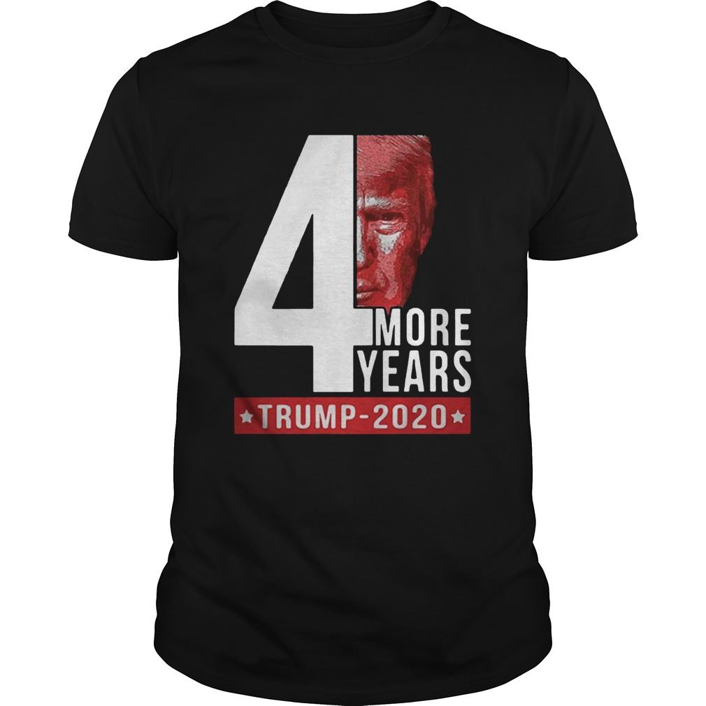 4th more years Trump 2020  Unisex