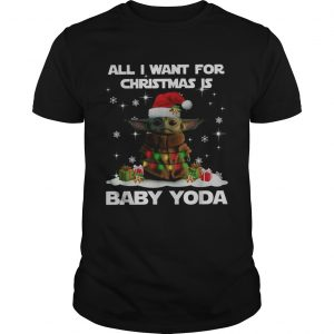 All I want for christmas is Baby Yoda Star Wars Christmas  Unisex