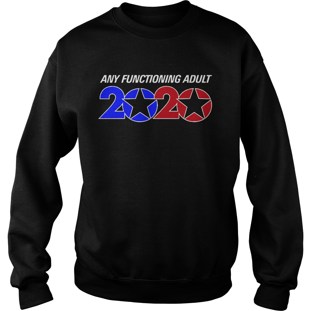 Any Functioning Adult 2020  Sweatshirt