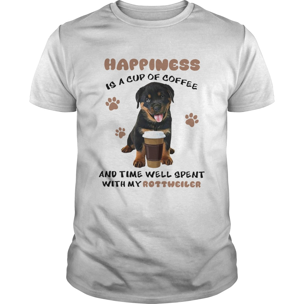 Coffee And Time Well Spent With Rottweiler  Unisex