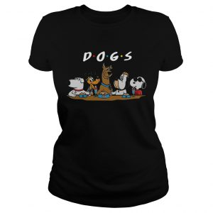 Friends Cartoon Tv Series Party Dogs  Classic Ladies