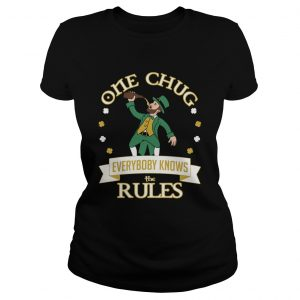 One Chug Leprechaun 2020  Classic Ladies