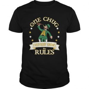 One Chug Leprechaun 2020  Unisex