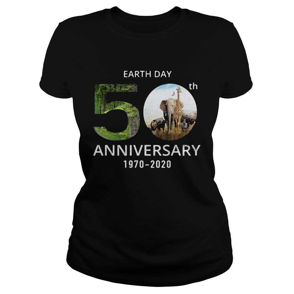 Animals Earth Day 50th Anniversary 1970 2020  Classic Ladies