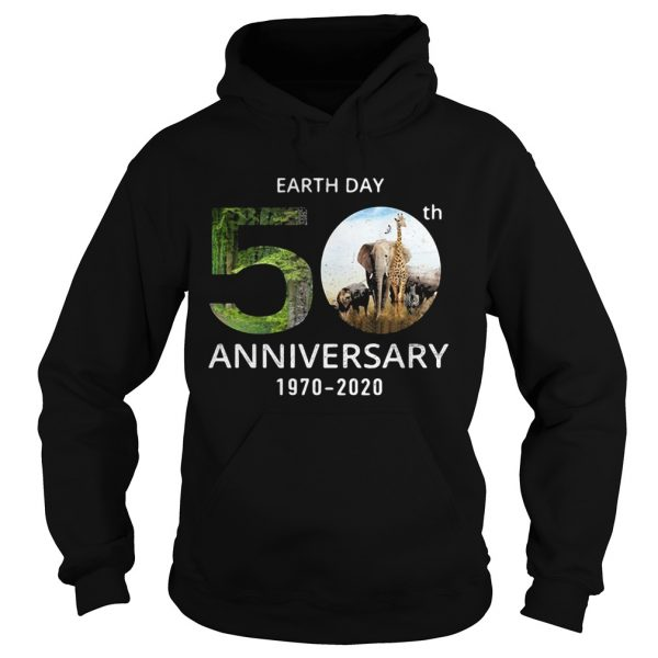 Animals Earth Day 50th Anniversary 1970 2020  Hoodie
