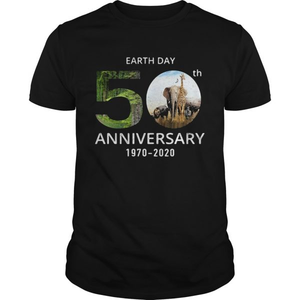 Animals Earth Day 50th Anniversary 1970 2020  Unisex
