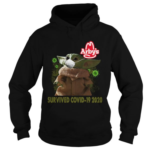 Baby Yoda Arbys Survived Covid 19 2020  Hoodie