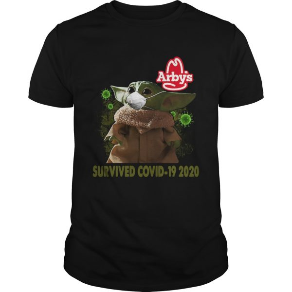 Baby Yoda Arbys Survived Covid 19 2020  Unisex