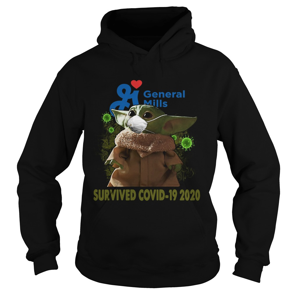 Baby Yoda General Mills Survived Covid 19 2020  Hoodie