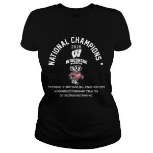 National Champions 2020 Wisconsin Badgers  Classic Ladies