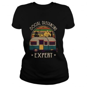Camping Social Distancing Expert Vintage  Classic Ladies