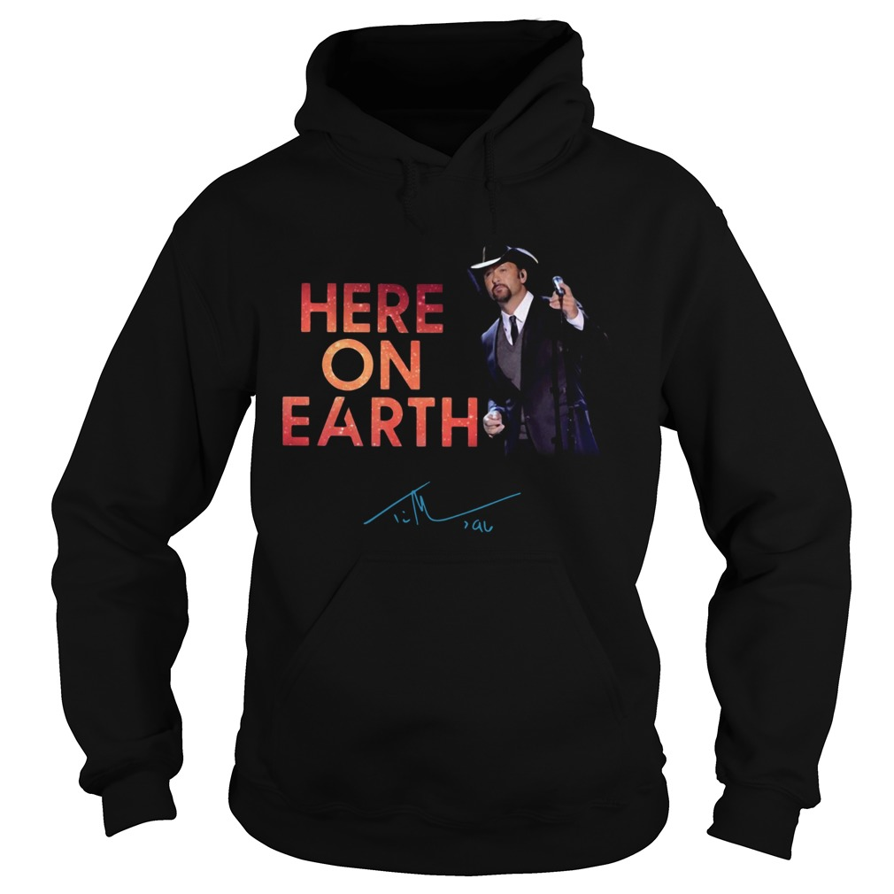 Tim McGraw Here On Earth Tour 2020  Hoodie