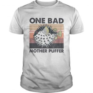 Fish one bad mother puffer vintage  Unisex