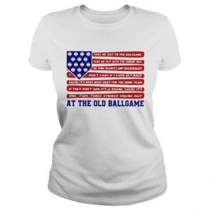 Independence Day At The Old Ballgame  Classic Ladies