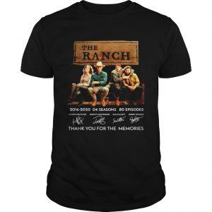 The Ranch Tv Series 20162020 Signature Thank You For The Memories  Unisex