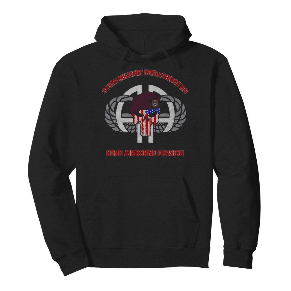 313th Military Intelligence BN 82nd Airborne Division  Unisex Hoodie