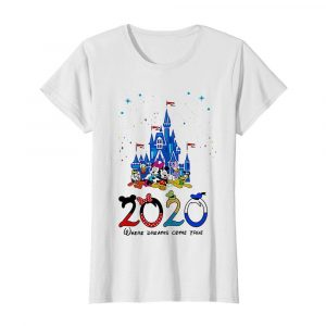 Disney family 2020 where dreams come true  Classic Women's T-shirt