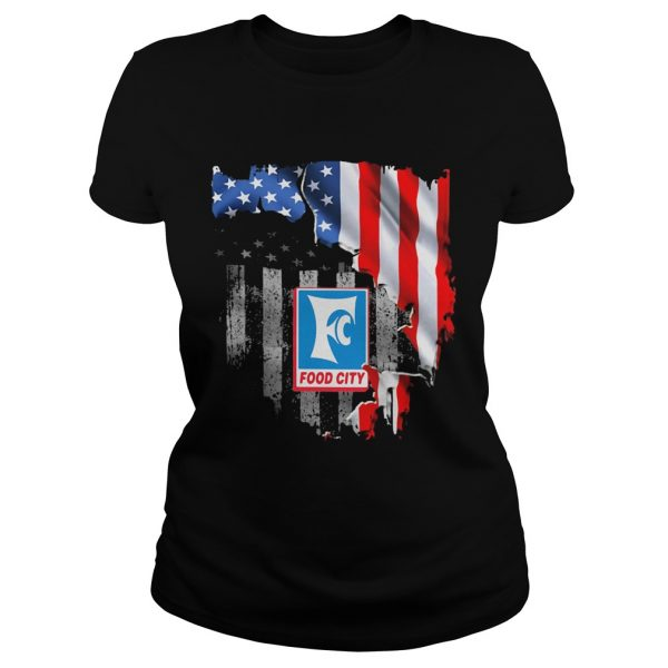 Food city american flag independence day  Classic Ladies