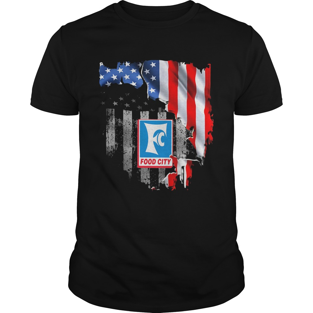 Food city american flag independence day  Unisex