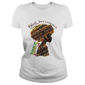 Girl Black Juneteenth Since 1865  Classic Ladies
