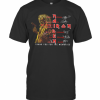 Iron Maiden 45 Years 1975 – 2020 Thank You For The Memories Signatures T-Shirt Classic Men's T-shirt