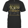 Iron Maiden 45Th Anniversary 1975 2020 Thank You For The Memories Signatures T-Shirt Classic Men's T-shirt