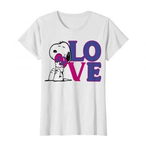 Snoopy hug heart love taco bell  Classic Women's T-shirt