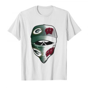 kull mask green bay packers and wisconsin badgers  Classic Men's T-shirt