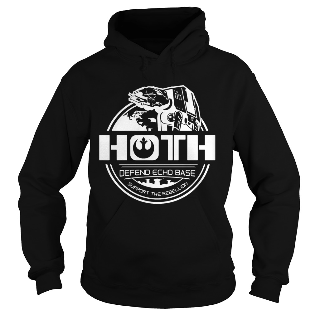 Hoth defend echo base support the rebellion  Hoodie