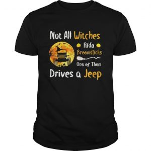 Halloween truck not all witches ride broomsticks one of them drives  Unisex