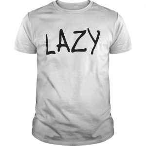 Lazy Womens Loose Fit  Unisex