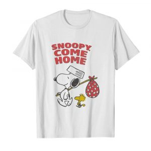 Snoopy And Woodstock Snoopy Come Home  Classic Men's T-shirt
