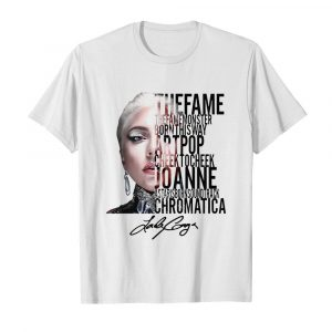 The Fame The Monster Born This Way Artpop Cheek To Cheek Signature  Classic Men's T-shirt