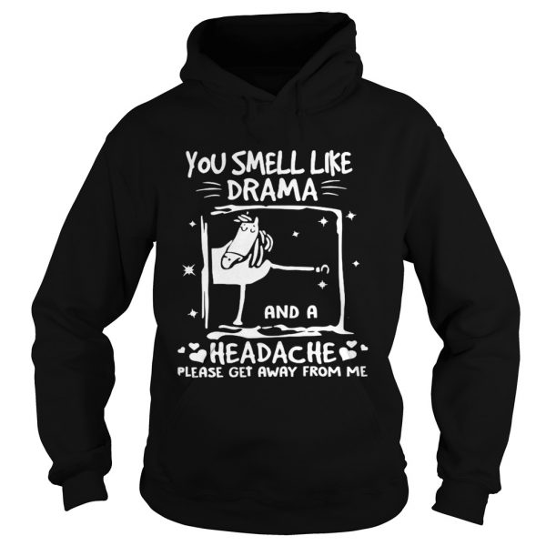 You Smell Like Drama And A Headche Please Get Away From Me  Hoodie