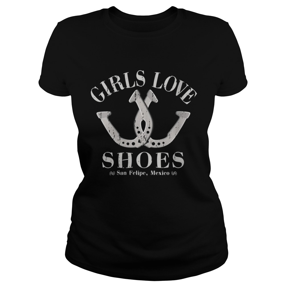 Girls Love Shoes Game of Horseshoe Pitching  Classic Ladies