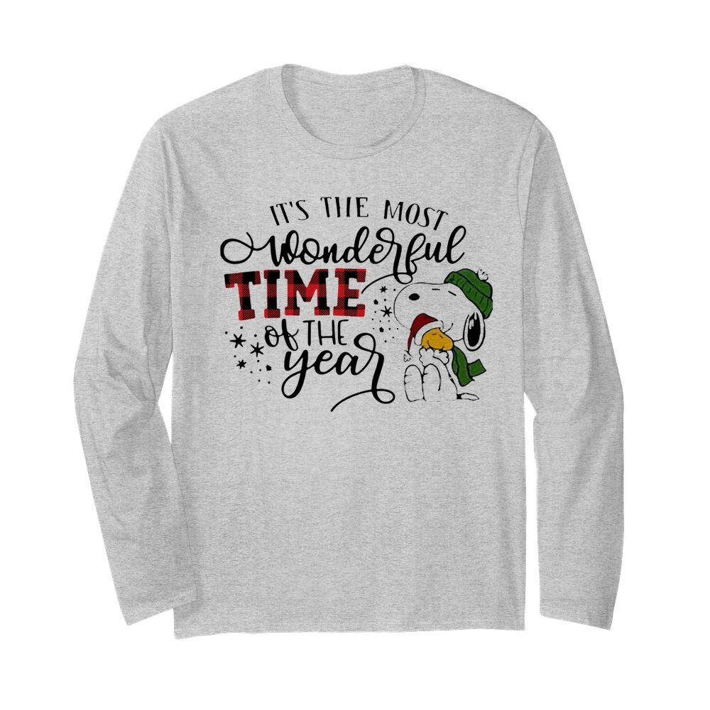 It's The Most Wonderful Time Of The Year  Long Sleeved T-shirt