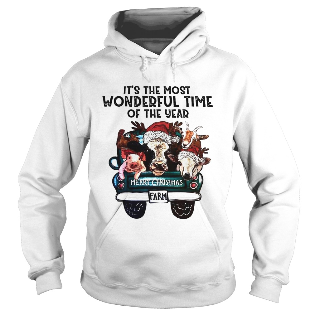 Its The Most Wonderful Time Of The Year Shirt Merry Christmas  Hoodie