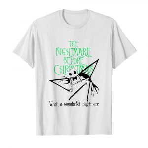 Jack Skellington the nightmare before Christmas what a wonderful nightmare  Classic Men's T-shirt