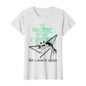 Jack Skellington the nightmare before Christmas what a wonderful nightmare  Classic Women's T-shirt